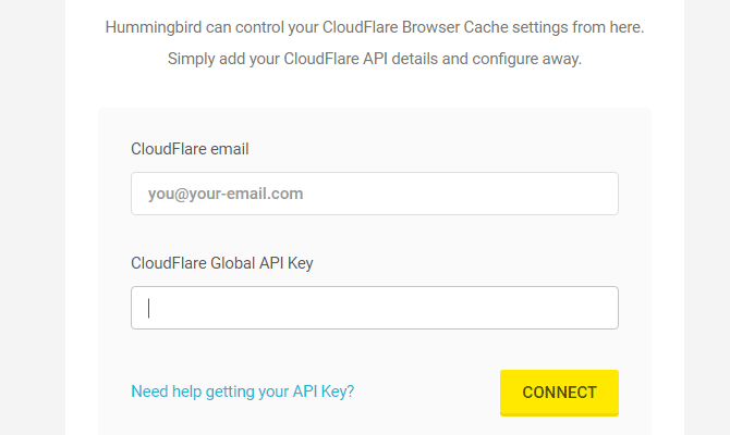 Hummingbird's Cloudflare settings.