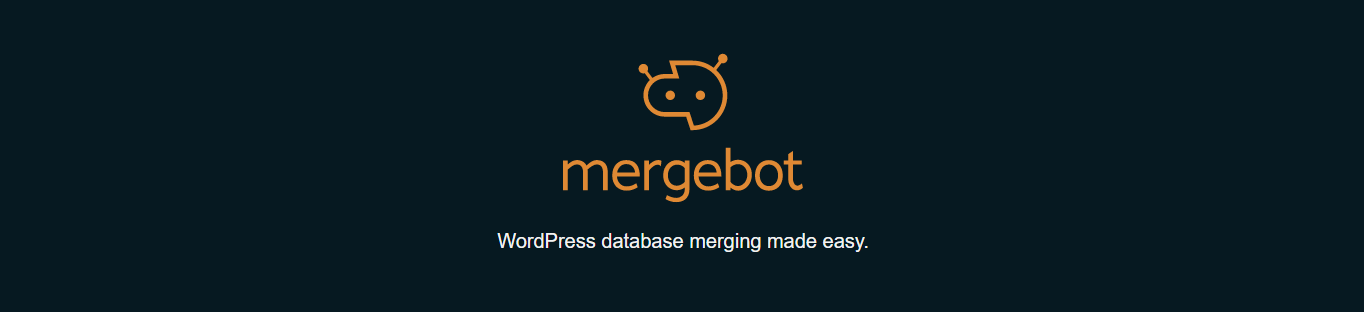 Screenshot from Mergebot website