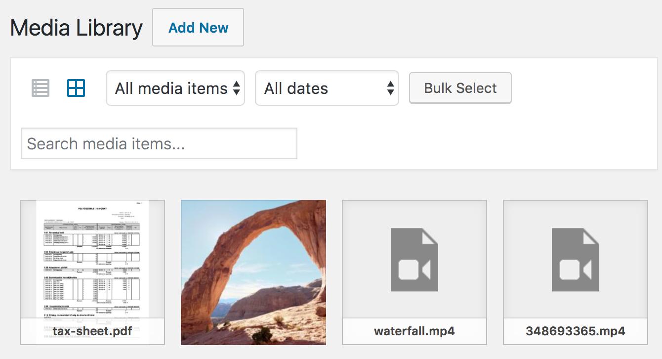PDF thumbnail previews
