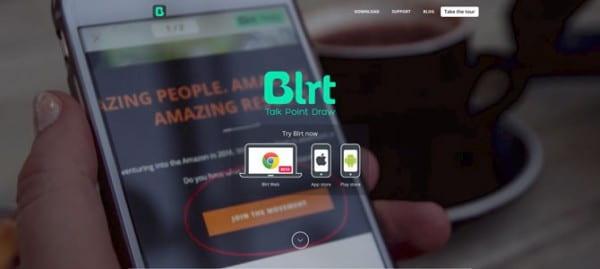 Blrt site