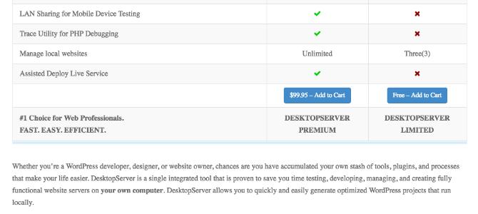 DesktopServer download page