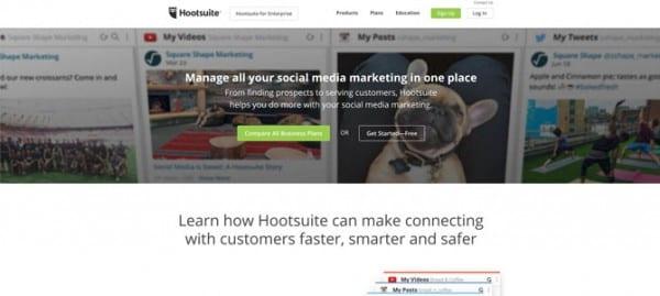 Hootsuite site