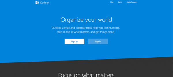 Outlook site