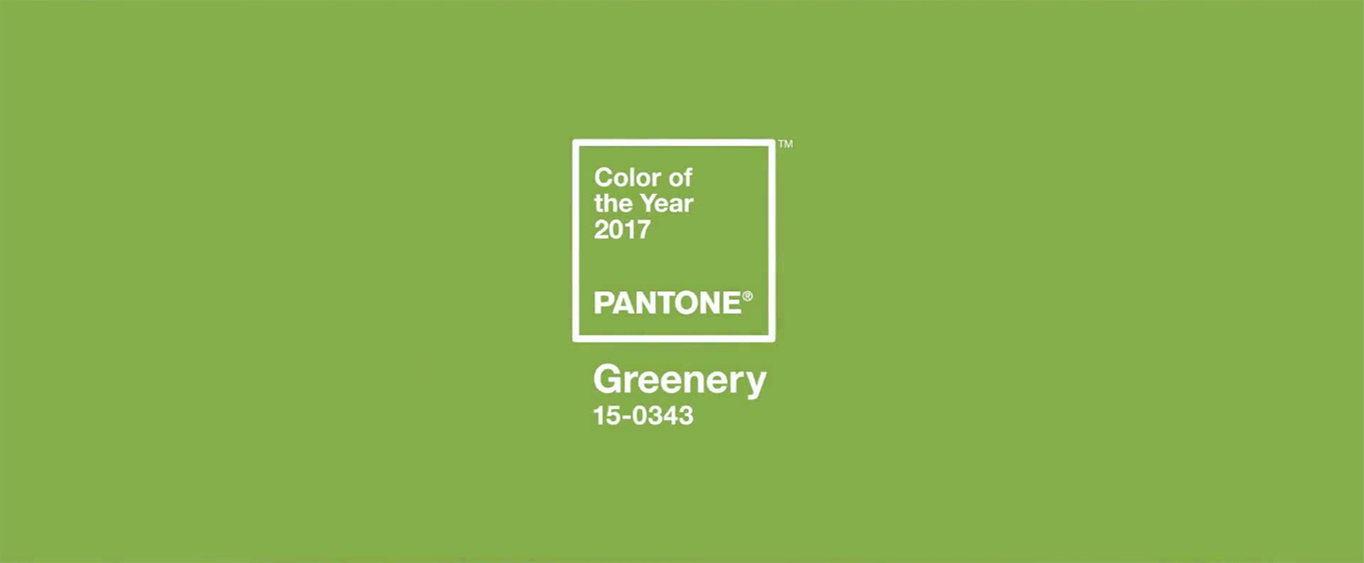 of pantone s recommended color pairings on their color of 2017 page