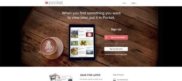 Pocket site