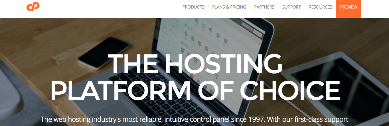 cPanel is great but I'd rather spend my time working in WordPress.