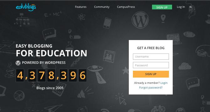 edublogs website