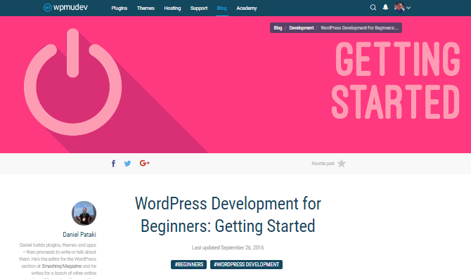 There are tons of free resources available online for learning the skills you need to be a great developer, including our blog.