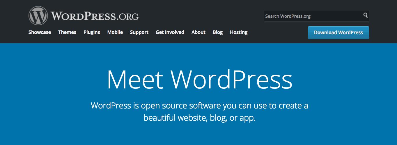 WordPress default comments