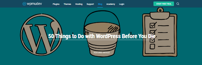Subscribing to WordPress blogs is one of the ways you can keep your development skills up-to-date.