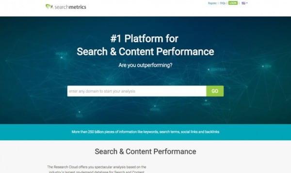 Searchmetrics site