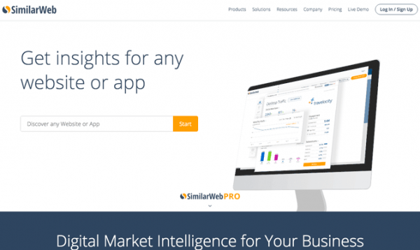 SimilarWeb site