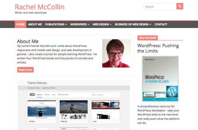 Rachel McCollin home page