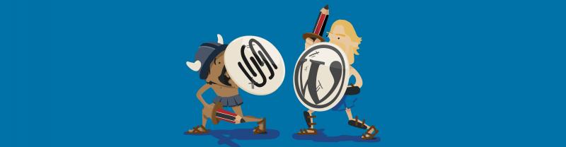 WordPress versus Squarespace