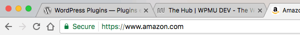 Favicons are quickly recognizable in browser tabs.