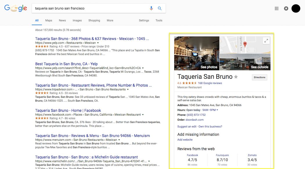 Update Your Details So Users Can See Business S Information Displayed In Google Search