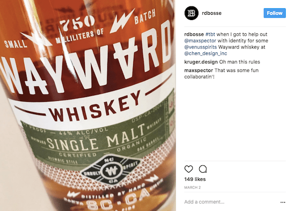 Instagram is an ideal platform for cross promotion with other brands.
