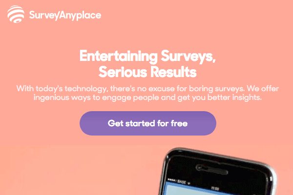 Survey Anyplace site