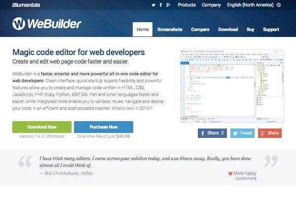 WeBuilder's site