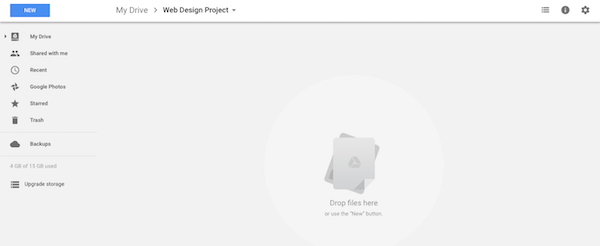WordPress Freelance Business Google Drive Storage