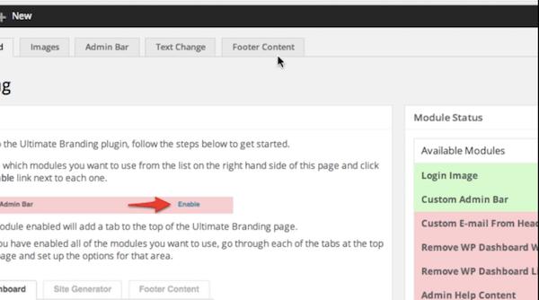 WordPress Freelance Business Ultimate Branding Plugin