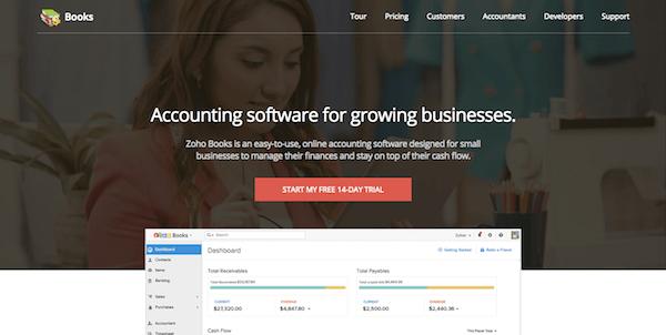 WordPress Freelance Business Zoho Books Finance Management