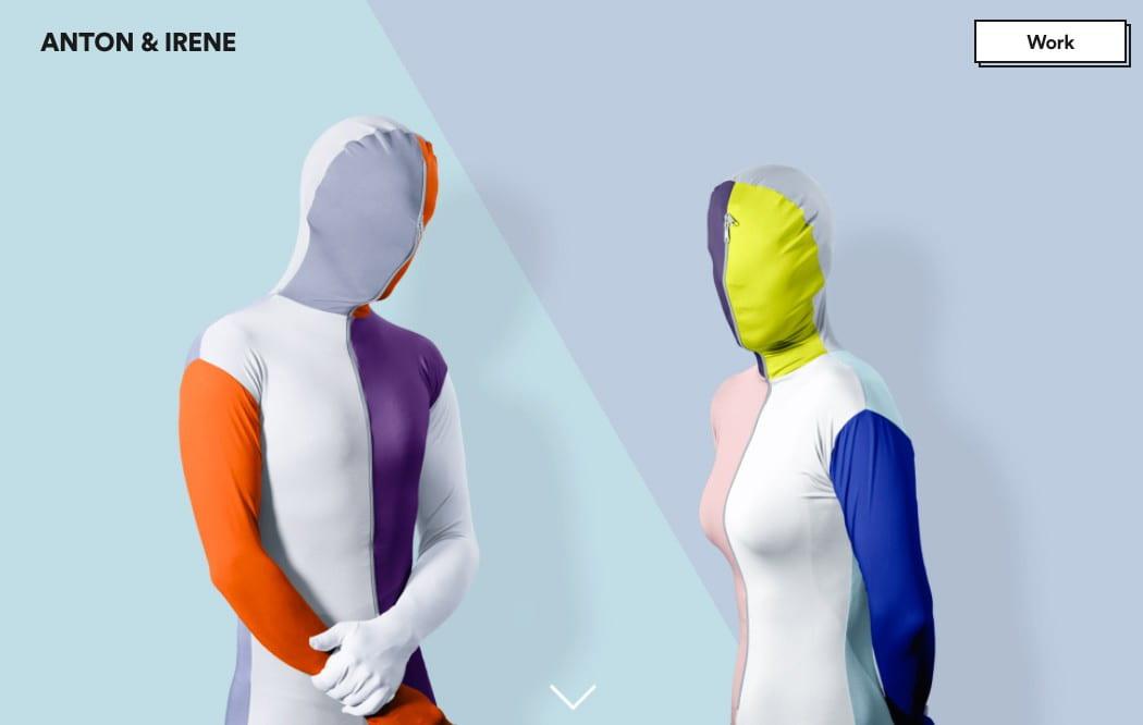 The Anton & Irene website.