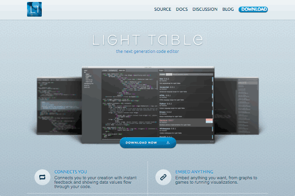Light Table's site