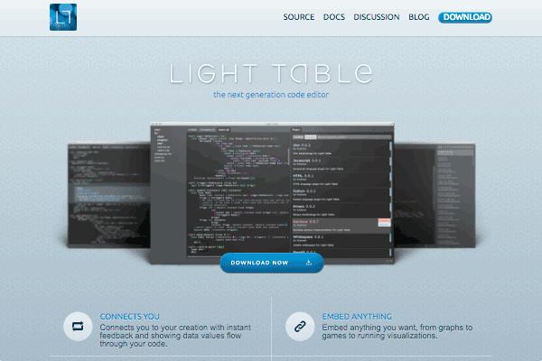 Light Table's site