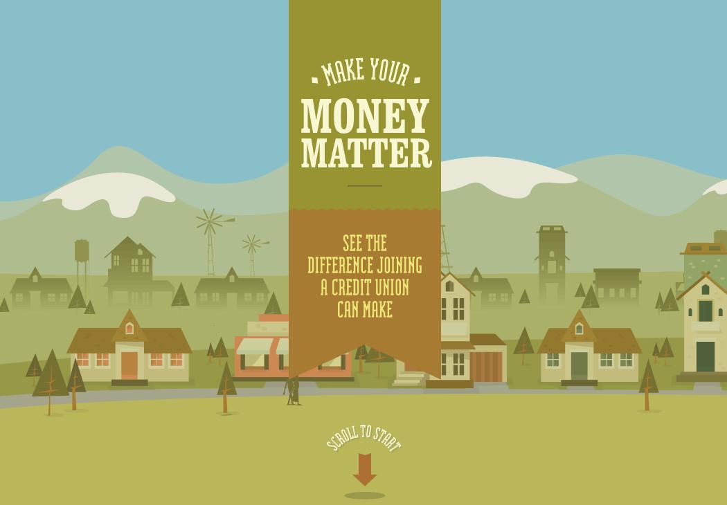 The Make Your Money Matter website.