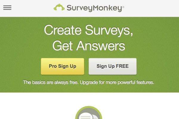 SurveyMonkey site