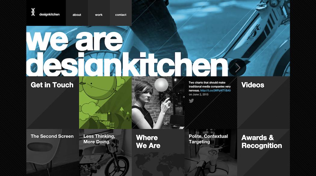 The Design Kitchen website.