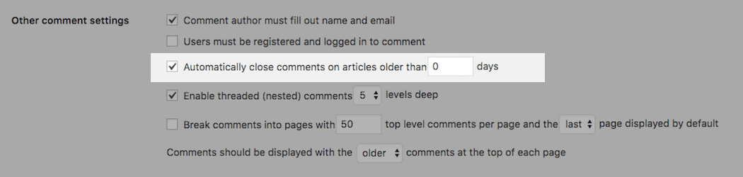 How to Completely, Totally Turn off WordPress Comments for