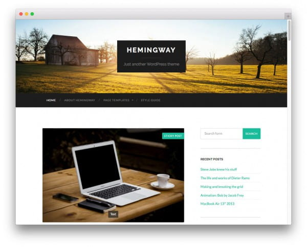 20+ Free High Quality WordPress Themes Worth Checking Out in