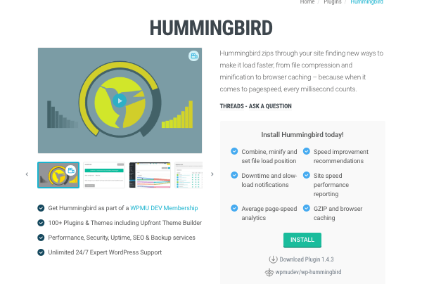 Hummingbird performance plugin