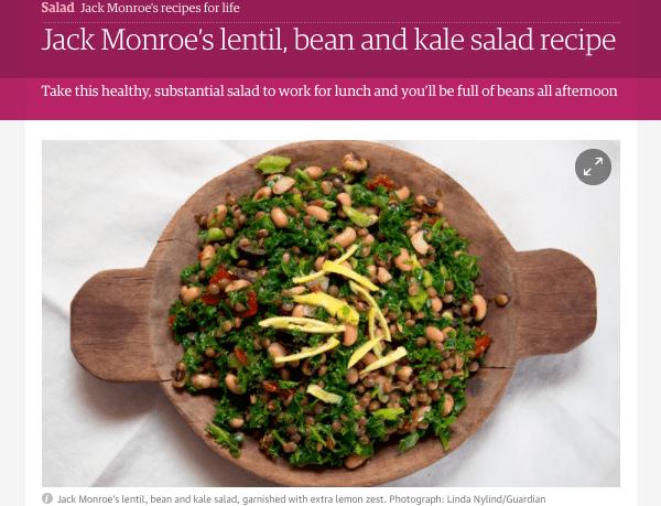 The Guardian - recipe by Jack Monroe