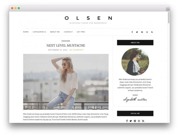 20 free high quality wordpress themes worth checking out for Wordpress create blog page template
