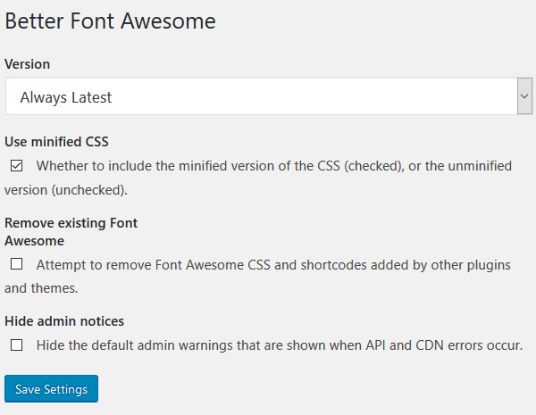 Better-Font-Awesome-Plugin-Configuration-Settings