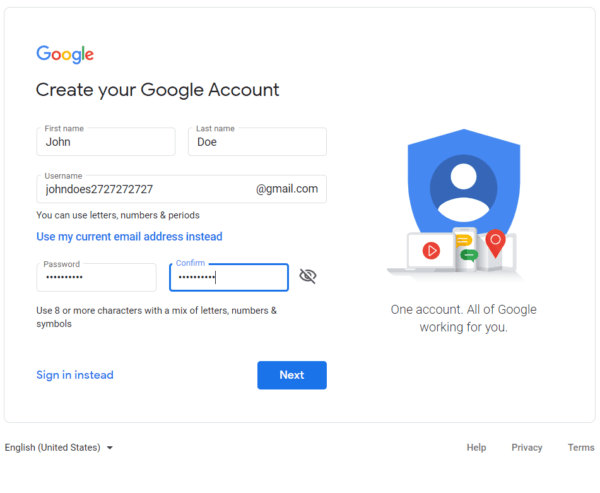 Create a Google Account So You Can Add GA Tracking Code Manually To Your Website