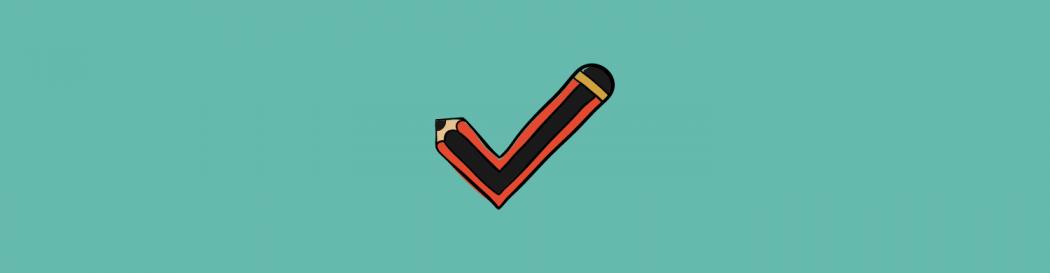 Pencil tick