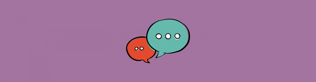 Conversation bubbles