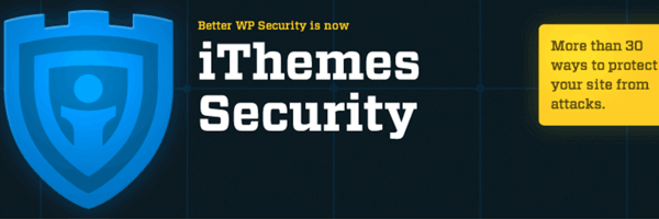 iThemes Security plugin