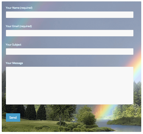 Custom Colour Contact Form 7 for ColorMag theme