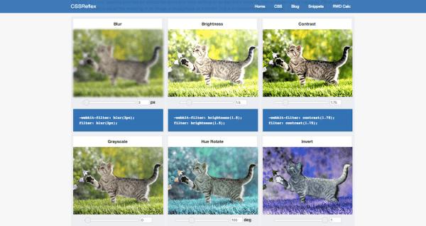Image Filters - CSSReflex