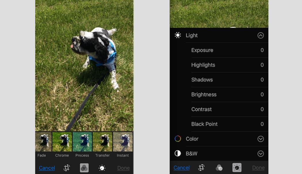 Image Filters - Smartphone Filter Adjustment