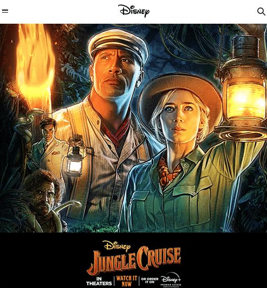 Disney's website.