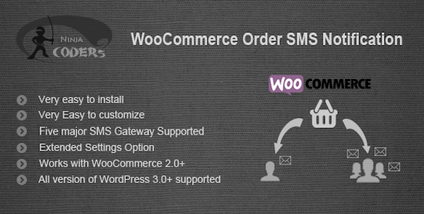 SMS for WordPress - WooCommerce Order SMS