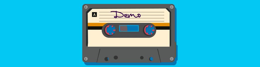 Cassette tape demo