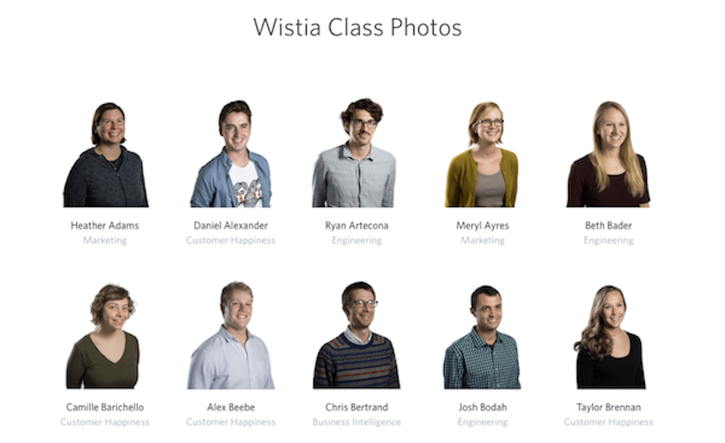 Element of Surprise - Wistia Before