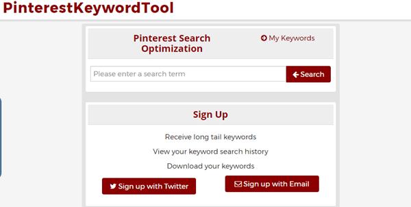 PinterestKeywordTool